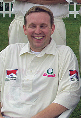 Greg Evans - Exmouth cricketer 2002