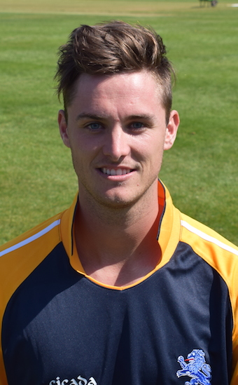 Matt Golding - nine wickets in the game when Wiltshire were last at Sandford in 2016