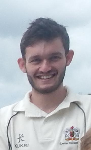 Exeter's Harry Conway - he had a three-wicket haul