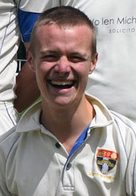 James Allen - South Devon CC captain and Lions' rookie
