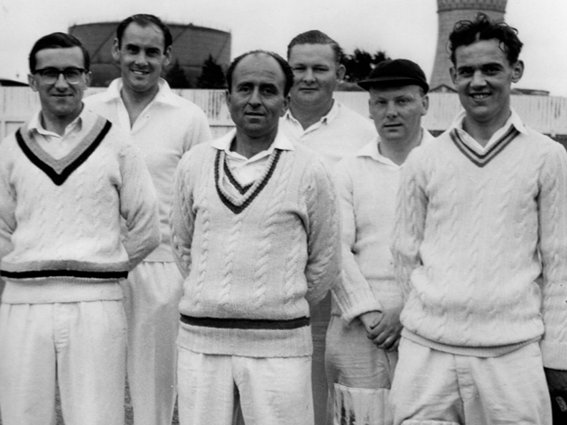 Left to right are the Chudleigh team of D J Cole, David Mears, Danny Hughes, Brian Tooze, Dave Mazzey and Graham Shears at the South Devon CC six-a-side tournament in 1963