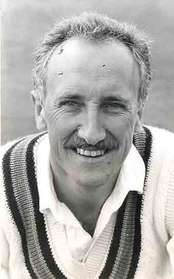 The late Hiley Edwards, who as Devon captain worked closely with Jack Davey
