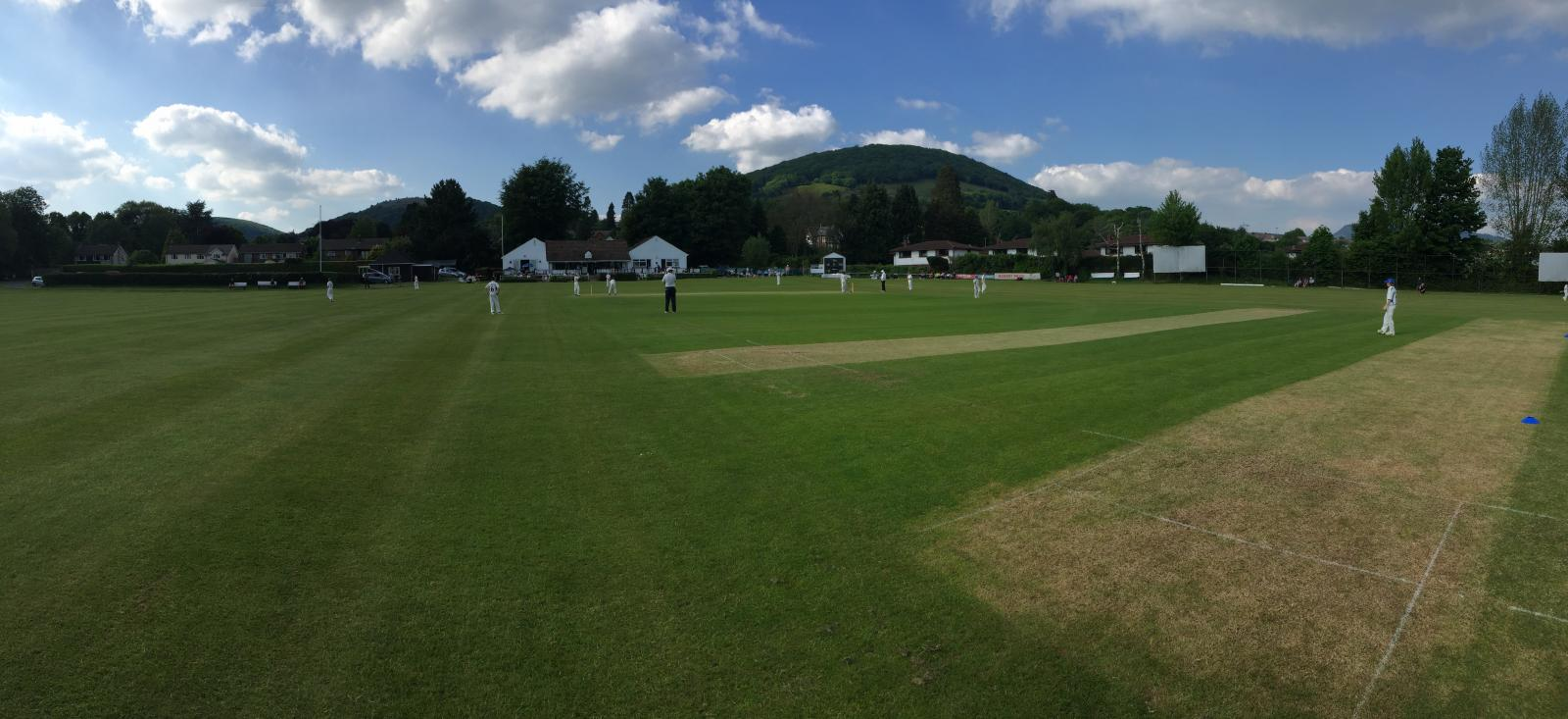 Devon U12's take the field against Gwent at Abergavenny CC