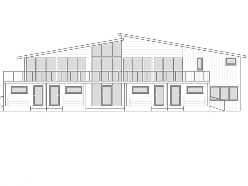 An architect&#039;s drawing of the proposed new pavilion Sheldon Optimists want to build<br>credit: mjs-design.co.uk