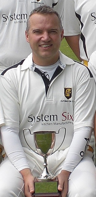Stuart Shaw with the McKinley-White Cup