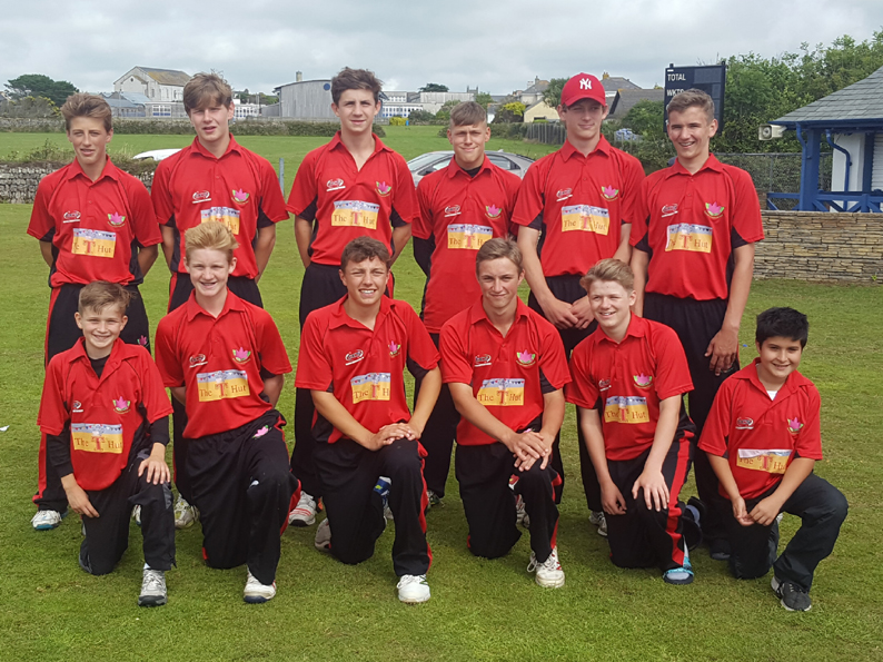 Last eight - Exmouth U15s