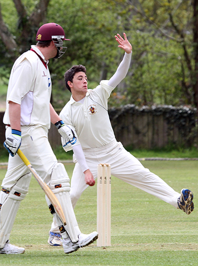 Matt Pile - performed the hat-trick for Axminster against Tiverton