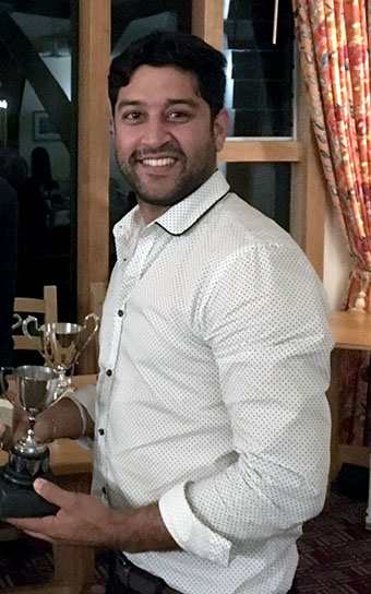 All-rounder of the year Dinesh Raheja
