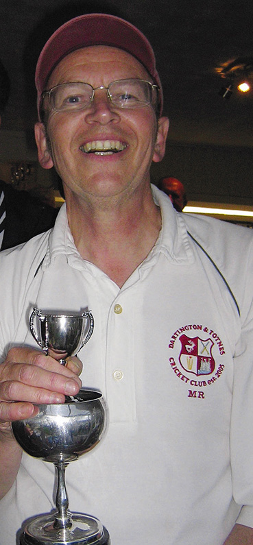 Tireless worker - Mick Rusling of Darington & Totnes CC