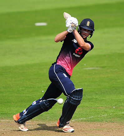 Tom Lammonby batting for England against India at Taunton