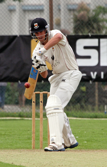 Batter by far! Sidmouth's leading league run getter, county captain Josh Bess
