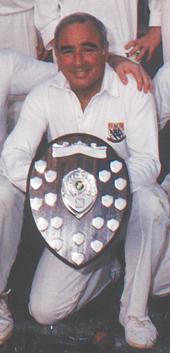 Vaughan Hosking - a team-mate of Ken Creber's at Torquay CC