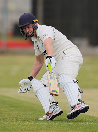 Bideford skipper Paul Heard batting against Ivybridge Photo: www.ppauk.com