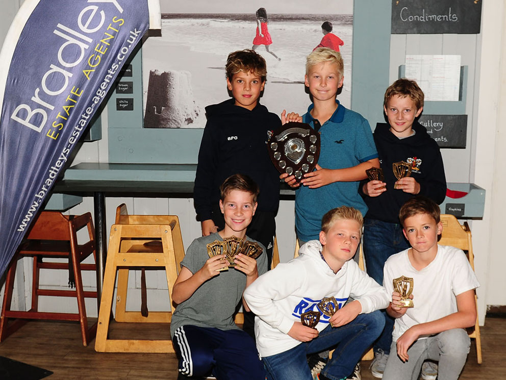 Flashback - Exeter's table topping under-11 team from 2017<br>credit: Richard Lappas