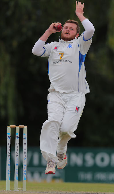Toby Codd - four for 88 in Cornwall's second innings | https://www.ppauk.com/photo/2151465/