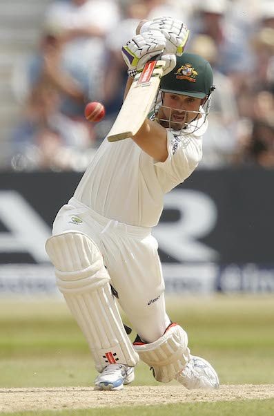 Chris Rogers batting for Australia - Picture: Pinnacle Photo Agency