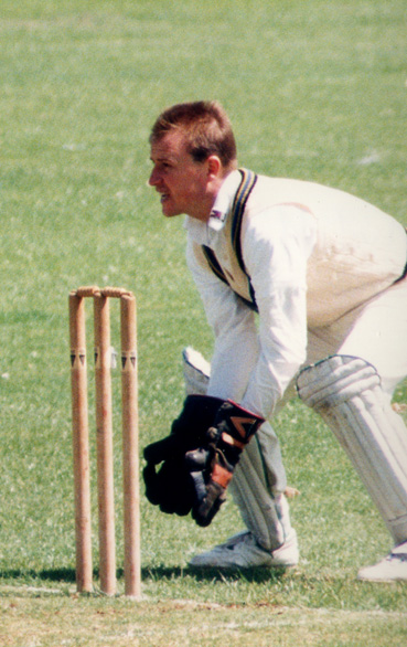 Peter Lucketti - MCC wicketkeeper