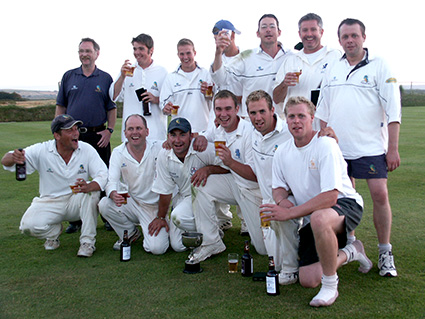 Flashback - Sandford's Devon KO Cup winning team of 2005