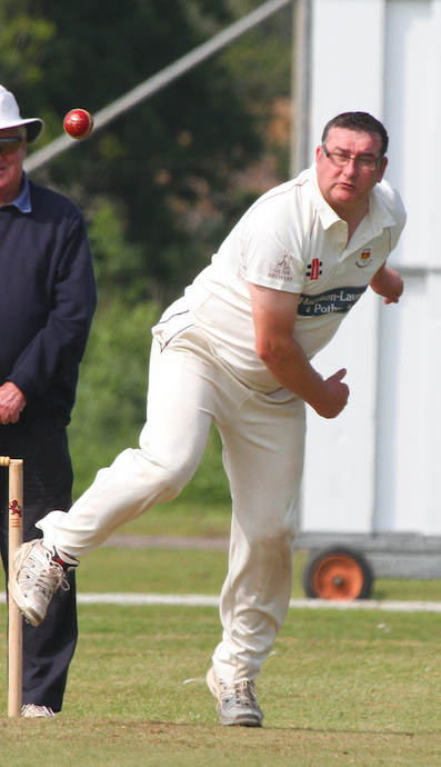 Miles Dalton – runs and wickets in a losing cause for Sidmouth