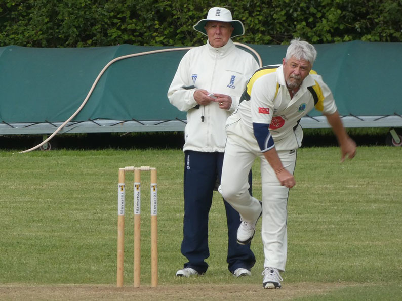 Umpire and coach Vernon Coon - one of Devon's six nominees for the NatWest cricket Oscas