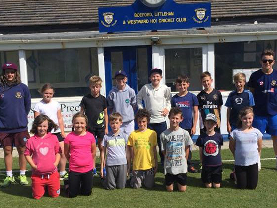 Flashback - last year's summer holiday camp at Bideford