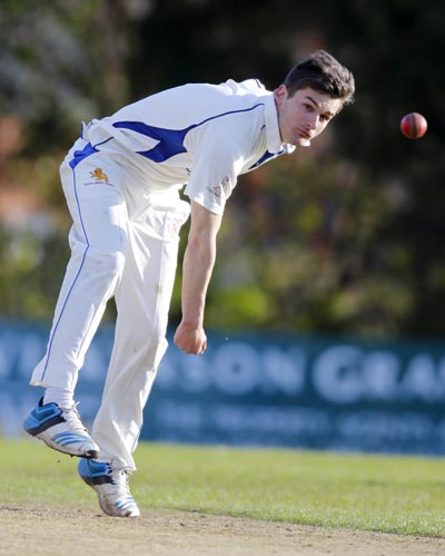 Lions opening bowler Dan Goodey - Picture: Pinnacle Photo Agency
