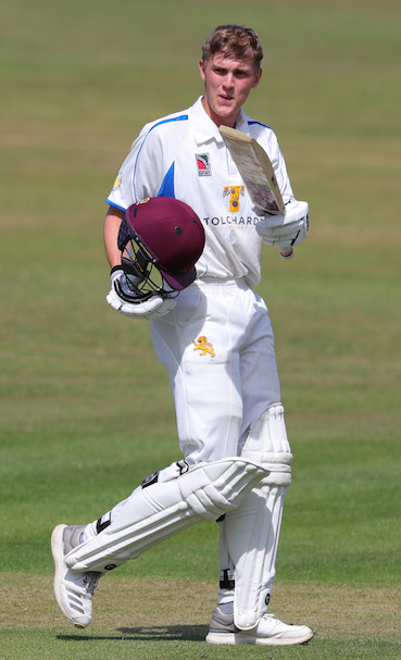 Tom Lammonby - two hundreds in the match