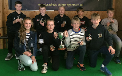 Exeter U12s, who also completed a league and cup double