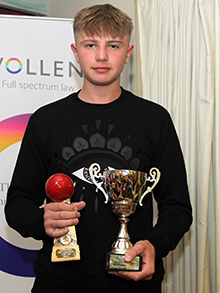 Paignton's Archie Farkins - U15 player of the year