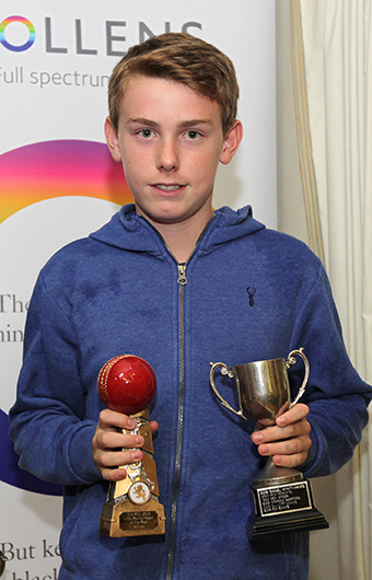 Chagford's Harry Mount - a two-time winner at under-13 level