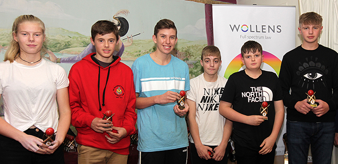 Under-15 Division winners Paignton